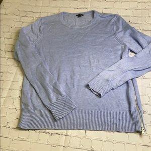 Ladies Ann Taylor zippier sweater size large